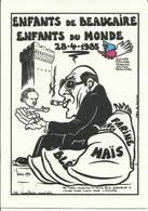 17- JIHEL- BEAUCAIRE- 1985- NOIR Et BLANC-Secours Populaire- - Frankreich
