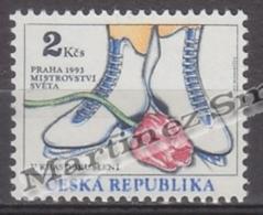 Czech Republic - Tcheque 1993 Yvert 2 Ice Skating World Championships, Prague - MNH - República Checa