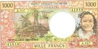 A.047 Polynesie Francaise Tahiti Papeete Billet Banque Signature 2012 IEOM Monnaie Banknote UNC Neuf - Nouvelle-Calédonie