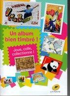 ALBUM DE TIMBRES POUR LES JEUNES ET MOINS JEUNES 62 PAGES POUR Y METTRE LES NOUVEAUX TIMBRES ALBUM NEUF - Bücher, Zeitschriften, Comics