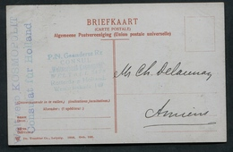 1906 Weltverb Kosmopolit Consulat Für Holland Rotterdam Westkruiskade 149 CPA Den Haag Kapelsbrug - Periode 1891-1948 (Wilhelmina)