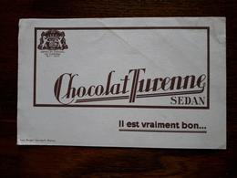 L18/101 Buvard . Chocolat Turenne. Sedan - Cocoa & Chocolat