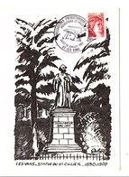 OBLITERATION CIVILISATIONS PREHISTORIQUES EN VIVARAIS - PREHISTOIRE ET PHILATELIE - LES VANS ARDECHE 1982 - Poststempel (Briefe)