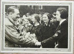 DR Ganzsache 6 + 19 Pfg.Hitler Mit Zusatzfrankatur SST Berlin Wehrfreiheit Hitler Mit Jugendlichen - Deutschland