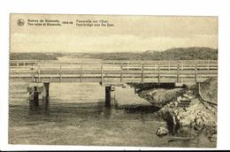 CPA - Carte Postale -Belgique - Diksmuide - Ruine De 14-18-Passerelle Sur L'Yser VM1260 - Diksmuide