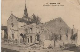 CPA - HERIMENIL - UN COIN DU VILLAGE - LA GUERRE DE 1914 - P. R. - France