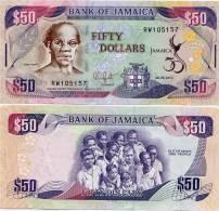 JAMAICA        50 Dollars     Comm.    P-89        6.8.2012        UNC - Giamaica