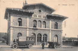 ¤¤  -  ORSAY   -  La Gare  -  Chemin De Fer   -  Bus , Autocar  -  ¤¤ - Orsay