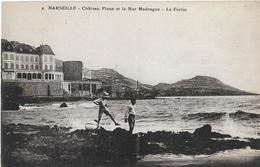 Autres. Le Chateau Picon Et La Mer Madrague, Le Fortin. - Marseille
