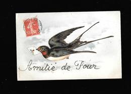 C.P.A. D AMITIE DE FOUR 38 - France