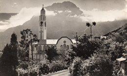 LA REUNION EGLISE DE CILAOS MASSIF DU GRAND BENARE CARTE PHOTO DENTELEE - La Réunion