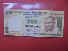 INDE 500 RUPEES CIRCULER - Inde