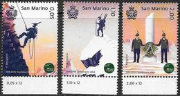 San Marino/Saint-Marin: Associazione Nazionale Alpini, National Alpine Association, Association Nationale Alpine - Professioni