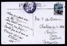 A5950) UK Australia Tasmania PPC Hobart 13.05.07 EF 5d - 1853-1912 Tasmania