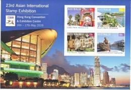 AUSTRALIA, 2009 HONG KONG STAMP EXH MINISHEET MNH - 2000-09 Elizabeth II