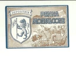 """2928 """" PENNA MONFALCONE """"  ETICHETTA ORIGINALE - Altre Collezioni"""