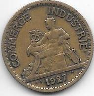 France 50 Centimes  1927  Km  884   Vf+ - France