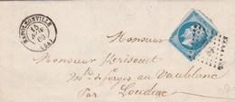 Lettre De Napoleonville Pour Loudeac - Marcophilie (Lettres)