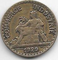 *france 50 Centimes  1929  Km  884   Vf+ - France