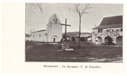 1924 - Iconographie - Monestier (Dordogne) - La Bastide - FRANCO DE PORT - Old Paper