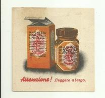 """2930 """" MAGNESIA BISMUTATA S. PELLEGRINO """"  COUPON ORIGINALE - Autres Collections"""