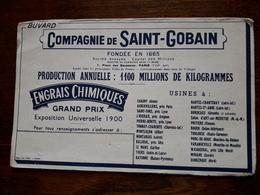 Buvard. Compagnie De Saint Gobain. - Farm