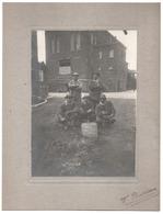 Charbonnage Mine DAMPREMY PLANCHE 1924 Puits Fond Des Piges Ou Piches Rue Decoux Mineurs - Photographie Foto Charleroi - Charleroi