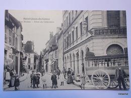 SAINT JEAN DE LOSNE-Rue Marion-Hotel Du Commerce-Calèche-bus - Otros Municipios