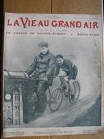 1909 GUIGNARD CYCLISME/SANTOS DUMONT DEMOISELLE/ MEETING OSTENDE/PARIS-ROUEN COURSE PEDESTRE/LA VIE AU GRAND AIR 09/1909 - Boeken, Tijdschriften, Stripverhalen