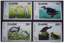 Zaire 1985 OBCn° 1282-85 *** MNH  Cote 13 Euro Faune Oiseaux Vogels Birds - Zaïre