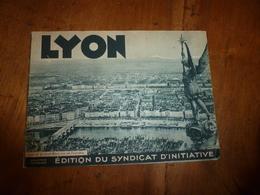 LYON Et Le MONT-BLANC Vus De Fourvières - Clichés De (E. Poix,  -Blanc-Demilly, Etc ) - Otros
