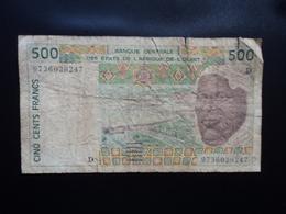 MALI : 500 FRANCS   (19)97   P 140Dg *     TB - Mali