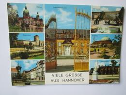 Viele Grusse Aus Hannover. Rathaus. Schloss Herrenhausen. Georgsplatz. Beginenturm. Stadthalle. Alstadt. - Hannover