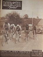 Revue Miroir Sprint N°101 (27 Avril 1948) Cyclisme Victoire De Caput Dans Paris-Tours - Alex Jany - 1900 - 1949