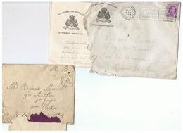CORRESPONDANCE MILITAIRE BELGE MILITAIRE DE SARS LA BUISSIERE   1924 - 1914-18
