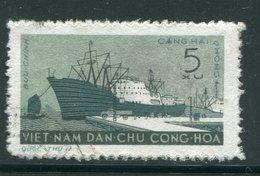 VIET-NAM DU NORD- Y&T N°245- Oblitéré (bateau) - Viêt-Nam