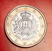 SAN MARINO - 2015 - Moneta - Stemma Ufficiale Della Repubblica - Euro - 1.00 - San Marino