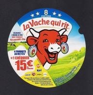 Etiquettes De Fromage LA VACHE QUI RIT 2018.    8 Portions. - Fromage