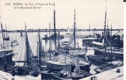 17 ROYAN -- Le Port , La Forêt De Pins Et Le Boulevard Garnier - Royan