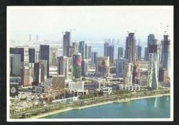 Qatar Picture Postcard Doha Corniche View Card - Qatar
