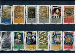 Art-objets D'art-renaissance 1011 A 1022 La Serie Obl - Luchtpost