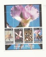 Stamps Nigerian Orchids 1993 - Nigeria (1961-...)