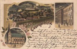 Old Postcard Czernowitz Litho Romania - Rumänien