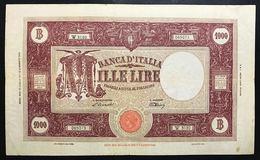 1000 Lire Grande M Testina B.I.12 07 1947 Q.BB Naturale  LOTTO 2416 - [ 2] 1946-… : République