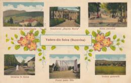 Old Postcard Solka Solca Bucovina  Romania - Romania
