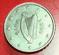 IRLANDA - 2008 - Moneta - Arpa Celtica - Euro - 0.10 - Irlanda