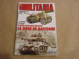 ARMES MILITARIA Magazine Hors Série N° 42 Guerre 40 45 La Bataille Des Ardennes Bastogne Peiper SS Char Blindés Armée US - Armes