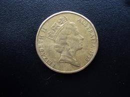 AUSTRALIE : 1 DOLLAR   1998    KM 84      TTB - Monnaie Décimale (1966-...)