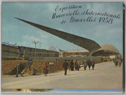 EXPOSITION UNIVERSELLE ET INTERNATIONALE DE BRUXELLES 1958 CARNET DEPLIANT DE 10 CARTES  SERIE 4 S - Universal Exhibitions