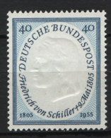 Germania 1955 Unif. 86 **/MNH VF - Unused Stamps